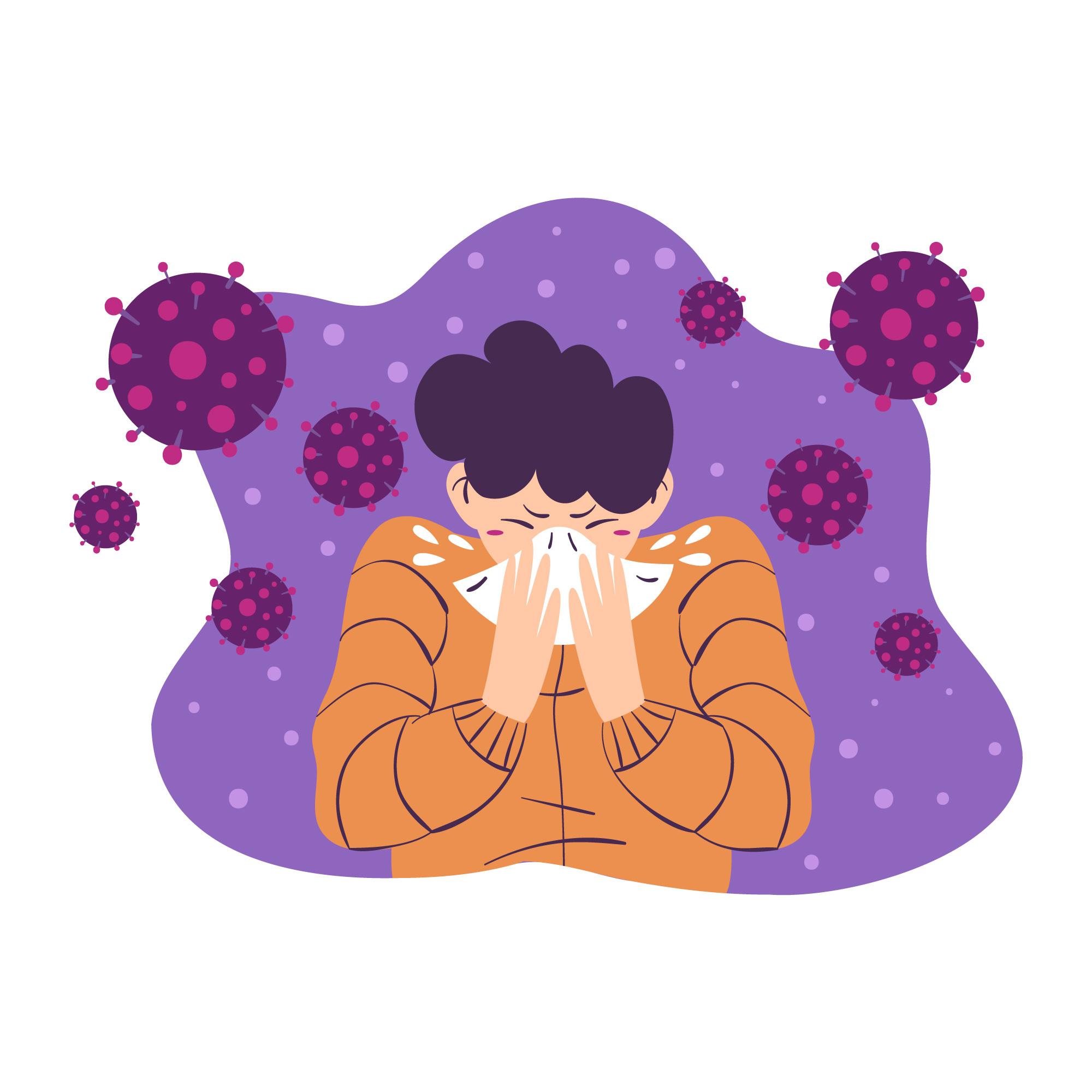 コロナウイルス感染の後遺症の背景とは? その2.咳、肺、呼吸について